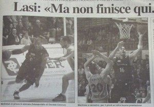 Recorte de prensa Italiana